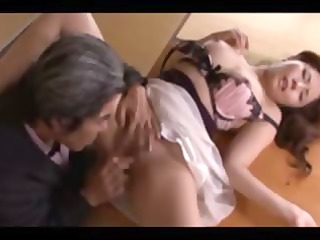 he is likes the smack of mature asian cum-hole in