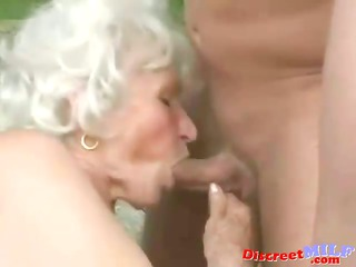 mature granny acquire screwed by young stud