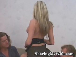 hubby loves sharing wife