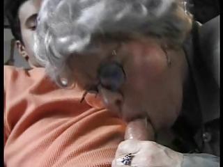 granny fucking her grandson