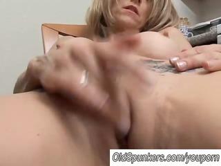 sexy milf has a wet wet crack