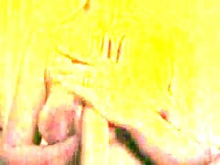 older lady handling biggest weenie