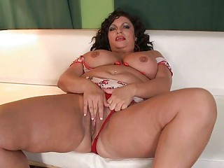 slutty mother i fatty acquires pounded on white