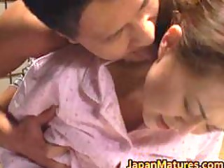 sexy mom mina toujou is drilled hard part1