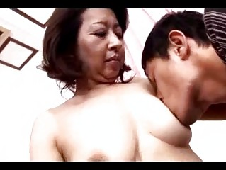 aged woman getting her teats sucked pussy rubbed
