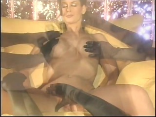 elegant milf playgirl receives groped and