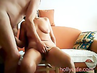 mature wife is toyed by her hubby wife sex toy