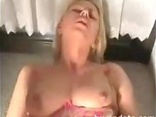 hawt blonde wife gets her constricted a-hole