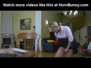 blonde mamma copulates her son - hornbunny.com