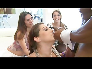 gal party cumshot compilation