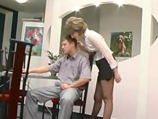 pantyhose granny gets blow job older aged porn