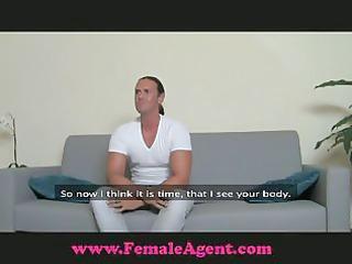 femaleagent make me cum