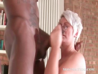 stockinged older fucks dark hard cock