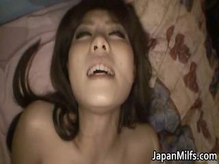 aya hirai enchanting oriental milf loves weenie