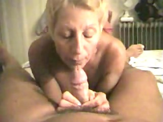 experienced milf sucks her mans cock