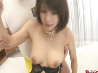 double load in face hole for azumi harusaki after