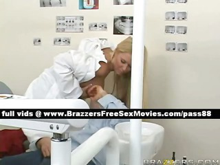 sweet blonde dentist