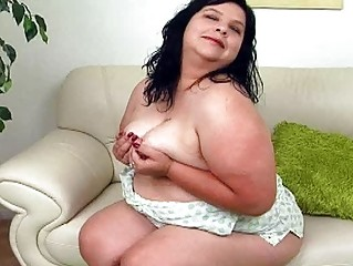 giant black haired milf with large bosom sticks