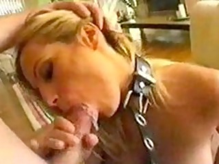 blonde milf gets a hard facefuck