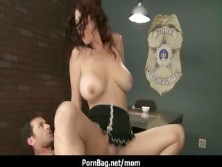pornstar milf with big meatballs rides large jock