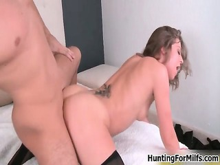 sexually excited hawt mother i acquires drilled
