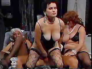 grannies have a fun a gangbang