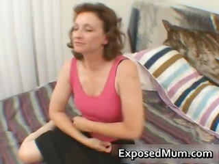 mommy taking on a precious thick cock part9