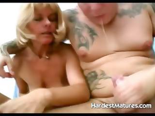 hardcore older engulfing and fucking bitch