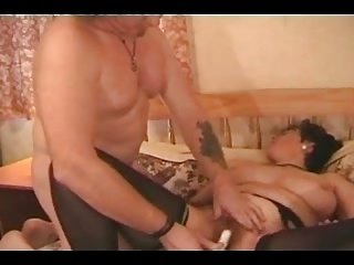 busty older in nylons copulates the repairman