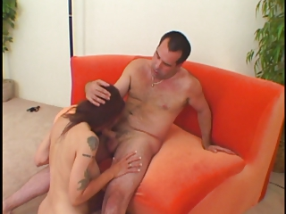 sexy hirsute aged d like to fuck receives pounded