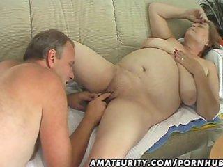 bulky aged amateur wife sucks and fucks