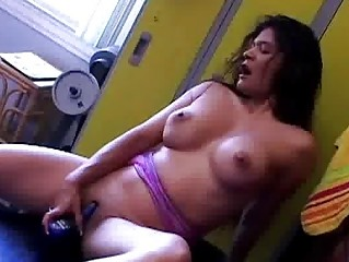 latin babe d like to fuck copulates her moist