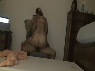 interracial older porn clip large booty lady