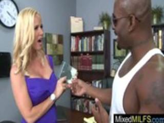 naughty milf get hard sex with dark large rod