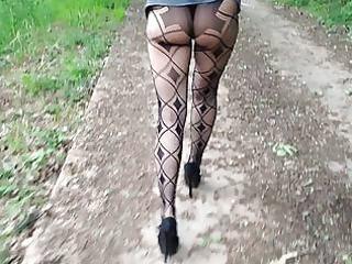 wife outdoor