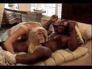 blonde d like to fuck bonks dark neighbour in