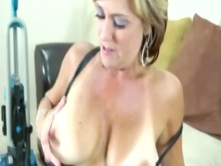 excited mother i tugging jock for fortunate guy