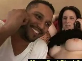 pale thick mamma screwed by black boy till he