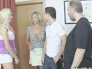 she copulates his family