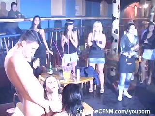 milfs engulfing female strippers dick others see