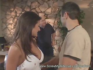 latin babe wife drilled by stranger
