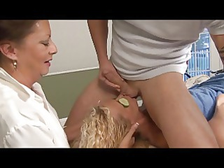 specific massage for golden-haired aged