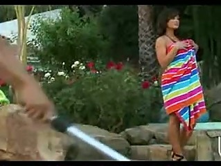 hot milf pornstar lisa ann has big wazoo eaten