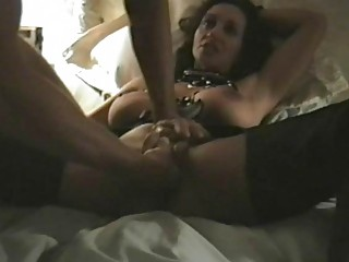 perverted darksome haired mother i with big