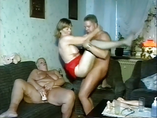 fellow fucks two chubby mature women