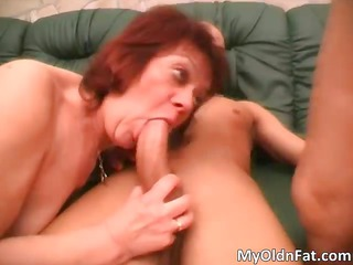 wicked redhead milf corpulent slut engulfing part5