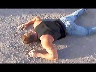 butch bear -- muscle bear truck stop part 8