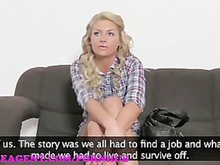 femaleagent hd reality tv babe tries porn