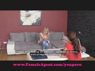 femaleagent. elementary hawt target