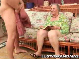 nasty granny margots hairy cunt for young cock
